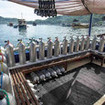 The dive deck of Indonesian liveaboard Mastro Aldo