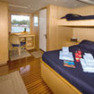 Spacious Owner's upper deck cabin aboard the Atlantis Azores
