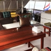 Socialise on Miss Moon's open air deck during your Myanmar liveaboard diving tour