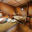 Standard twin bed cabin, M/V White Manta