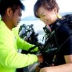 Gearing up for diving Thailand on MV Manta Queen 5