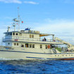 The MV Undersea Hunter providing full boat charter Cocos diving safaris