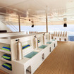 The dive deck makes kitting up a breeze