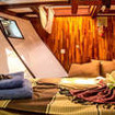 Standard double bed cabin located on the lower deck of Euphoria's bow