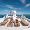 Enjoy the Maldives from the sundeck of Emperor Virgo