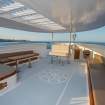The flybridge - another spot to relax and enjoy the views