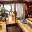Euphoria's VIP double/twin bed cabin with private terrace