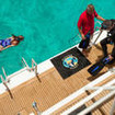 Service and convenience on your diving cruises