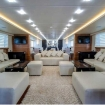 The spacious and comfortable saloon of Red Sea Aggressor II