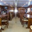 M/Y Ghazala I liveaboard saloon and dining area