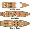 Deck plans of WAOW