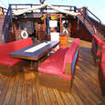 WAOW's main deck can either be shaded or open to the tropical sunshine