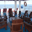 Covered upper deck and sun deck, MV Celebes Explorer