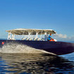 Solitude One's nippy tender for diving Palau