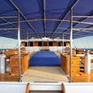 Prepare for Komodo diving on the well designed dive deck