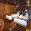 Deluxe twin bed stateroom - Dewi Nusantara liveaboard