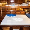 MV Eco Blue's Standard twin/double bed cabin