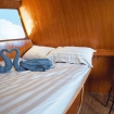 Deluxe double/twin bed cabin