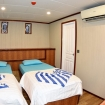 Standard twin/double bed cabin