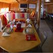 The dining area onboard the MV Sea Escape