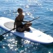 Paddle board in the Philippines from the M/V Seadoors diving liveaboard