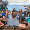 Komodo Island liveaboard - Ondina's shaded open air seating