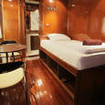 VIP single cabin on the M/V Hallelujah