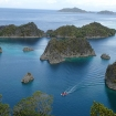 Tender tours around the remote region of the archipelago