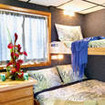 Kona Aggressor II Deluxe double/twin bed stateroom