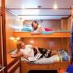 Deluxe twin/double bed cabin on Maldives Aggressor