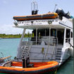 Turks & Caicos Aggressor's dinghies for whale watching and snorkeling
