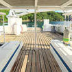 Cocos Island liveaboard, M/V Sea Hunter's spacious dive deck