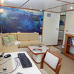 M/V Argo liveaboard's upper deck study - view and edit diving pictures and videos