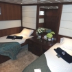 The twin bed Deluxe Stateroom