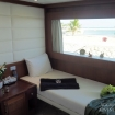 The twin bed Master Stateroom