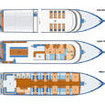 Layout of the M/V Dolphin Queen