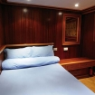 One of the Classic double bed cabins on the main or upper deck