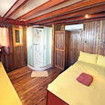 The SMY Mangguana's larger Standard double/twin bed cabin
