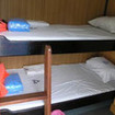 Standard twin bunk cabin onboard the Sea World