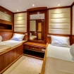 Deluxe twin stateroom on Red Sea Aggressor II's lower deck