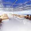 The spacious and comfortable sundeck
