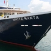 Another view of the Indonesian liveaboard White Manta in port