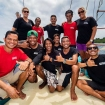 The friendly and professional crew of Indonesia liveaboard KLM Jaya