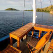 More relaxation space for observing the views of Komodo