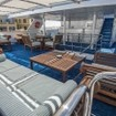 Egypt liveaboard, the MS Royal Evolution outdoor relaxation area