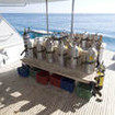Dreams' dive deck - your preparation area to explore the best diving of the Red Sea