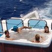 Chilling between Red Sea dives in the jacuzzi