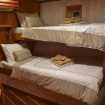 Deluxe twin bed cabin aboard the Emperor Raja Laut