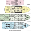 Philippines Agggressor deck layout plans