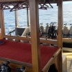 The dive deck with camera table and individual stations